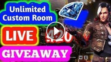 Live Custom Rooms Giveaway 400 Diamonds After 1k Subscribers Garena Freefire Live